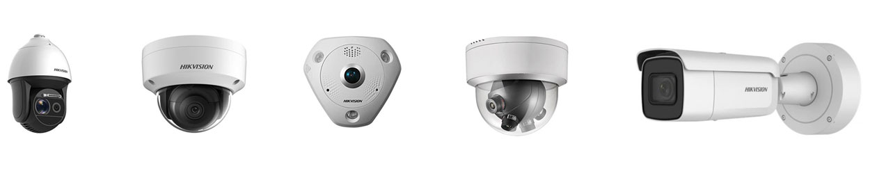 Commercial Video Surveillance security cameras for large and small businesses