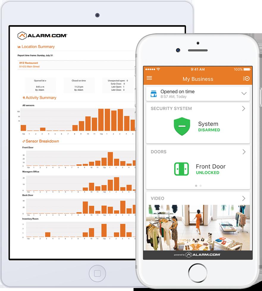 Alarm.com Mobile App