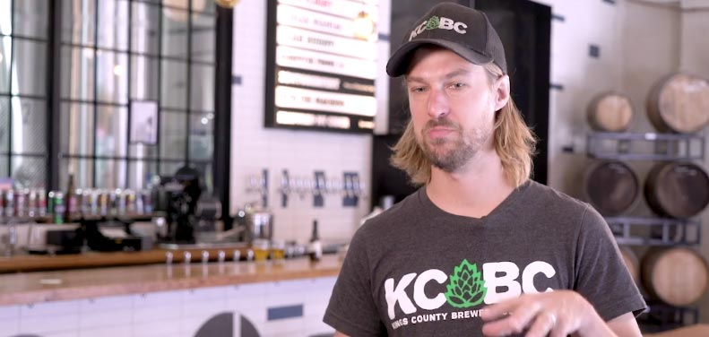 owner of Kings County Brewers Collective talks about using alarm.com at his business