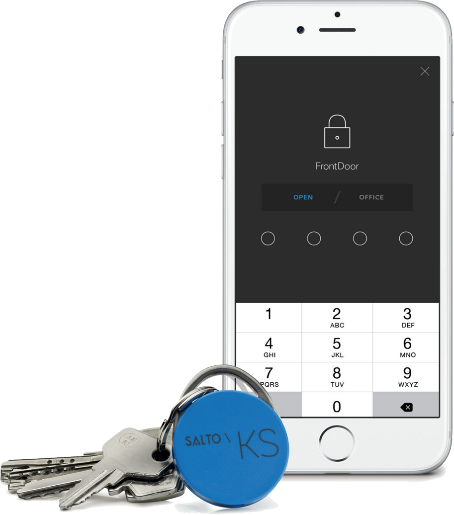 Salto Key-fob and mobile app