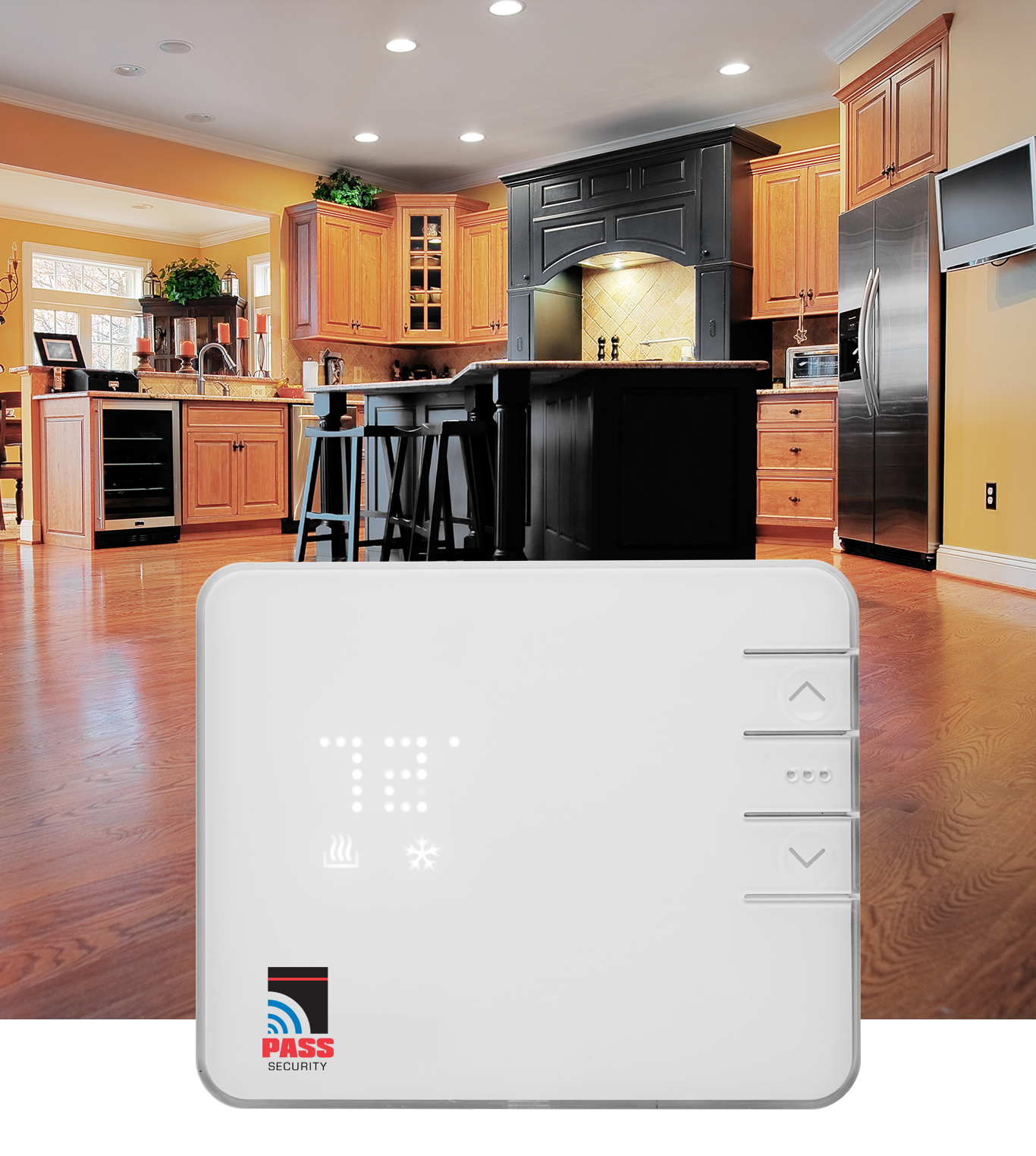 Automated smart thermostat