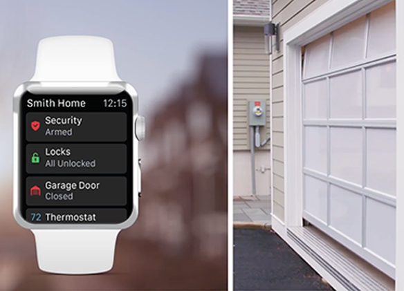 home automated garage door security PASS Security