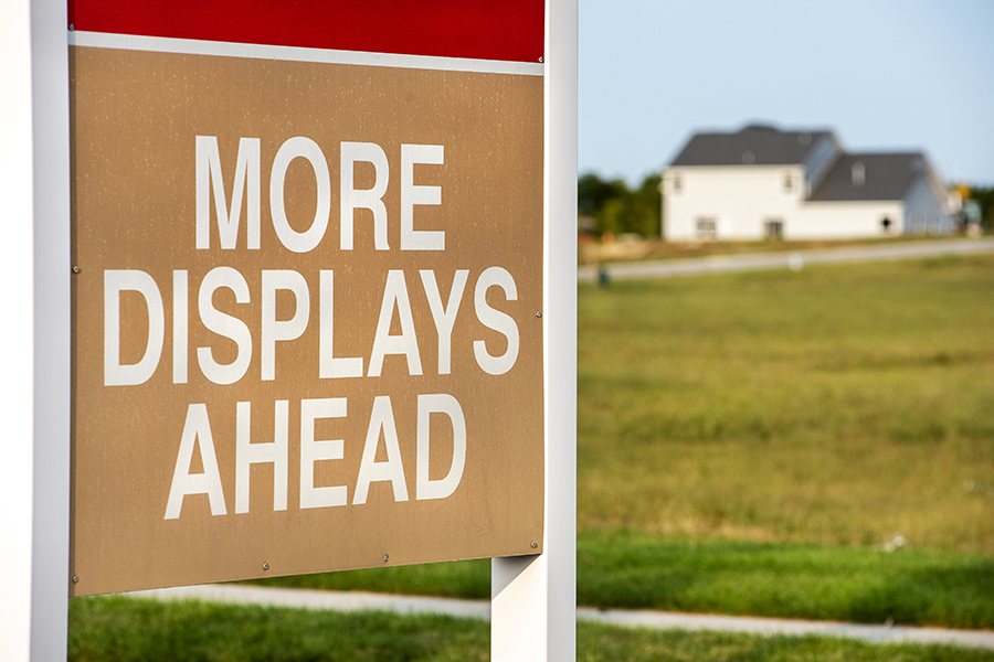 New home construction security systems