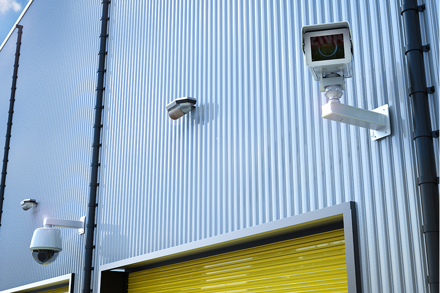 outdoor video security camera for businesses