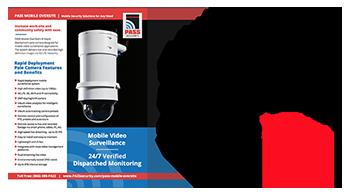 video surveillance security pole camera information specs