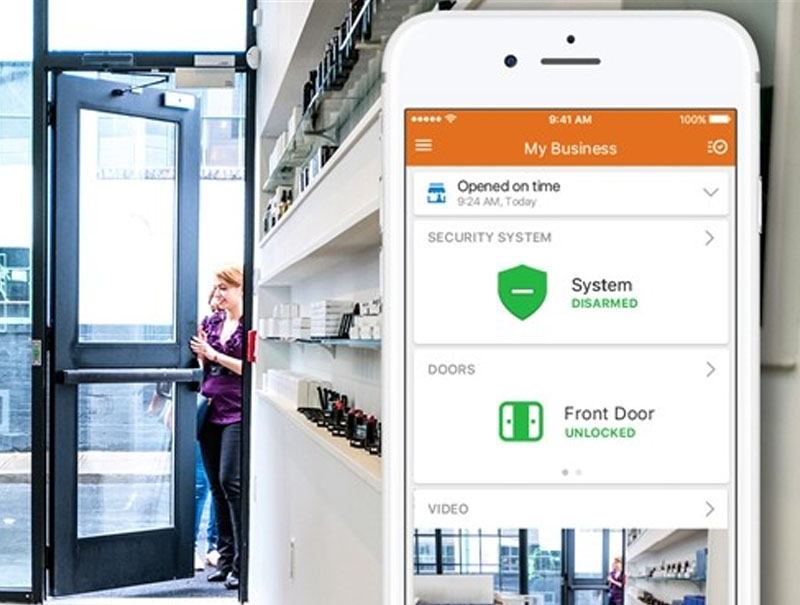 commercial business access control system
