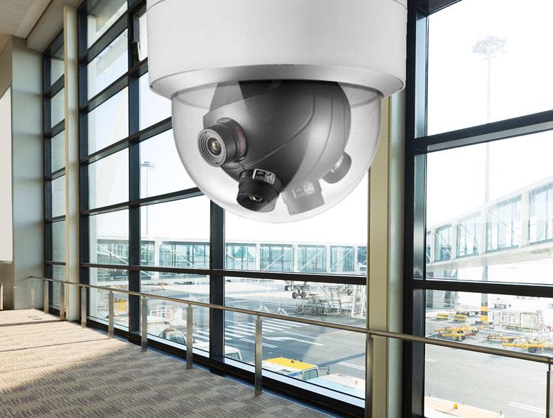 indoor video surveillance camera