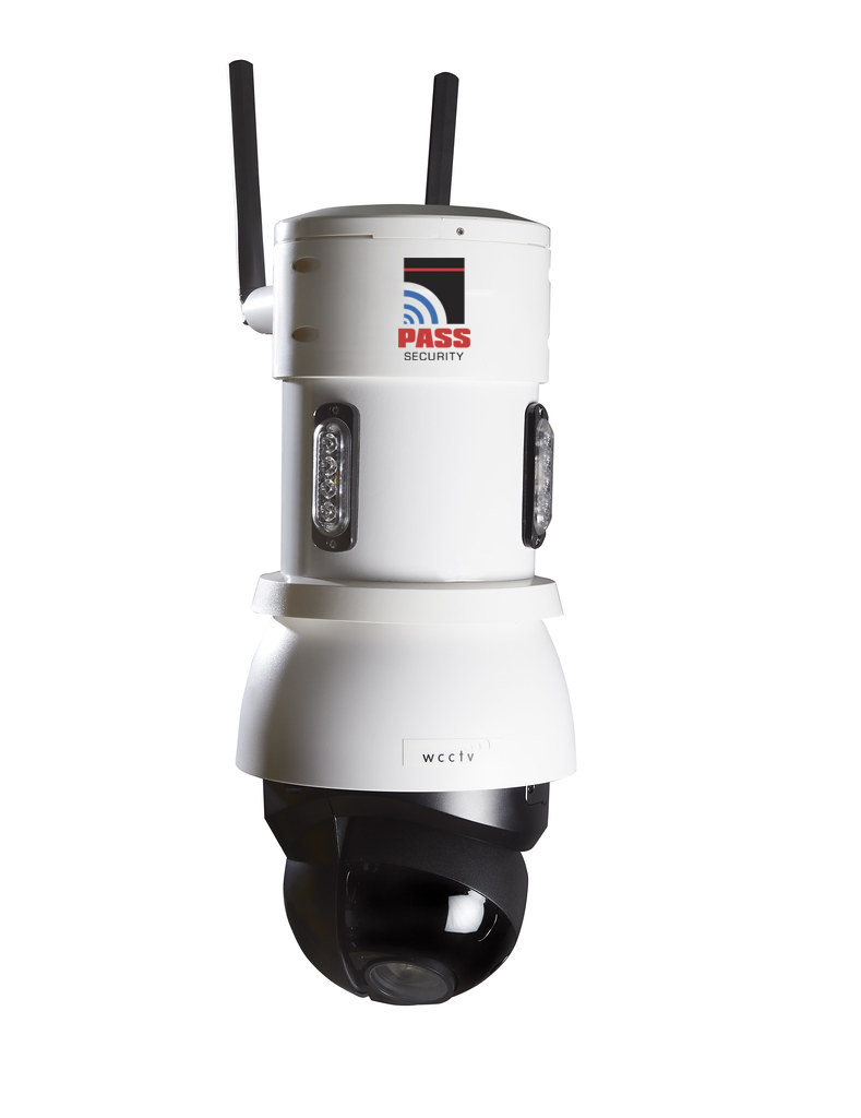 wcctv pole security camera
