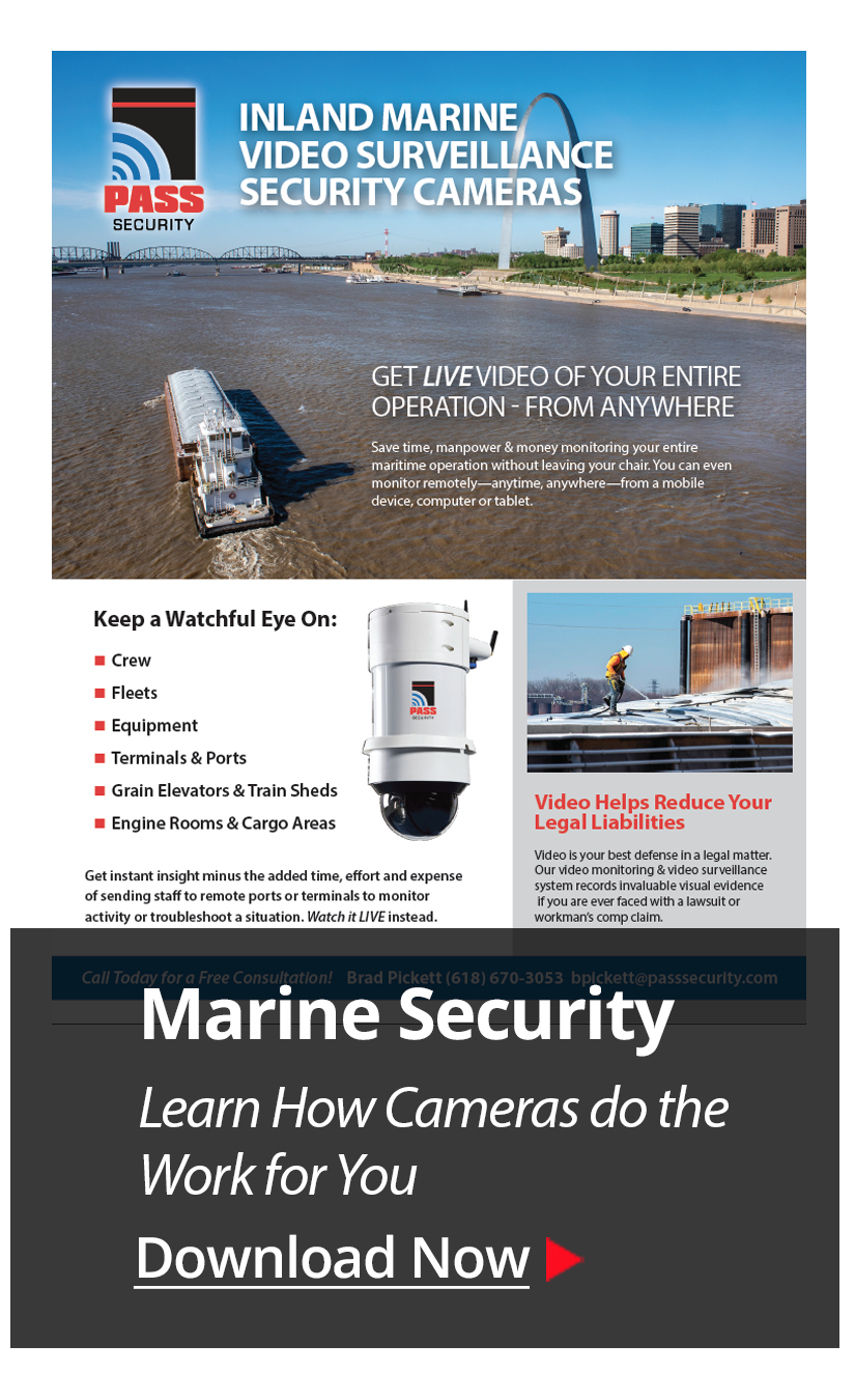 best security camera systems for marine and maritime barge companies