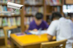video surveillance security camera in schools